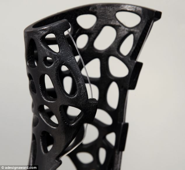 Osteoid medical cast, stampa 3d, fratture, gesso, designer