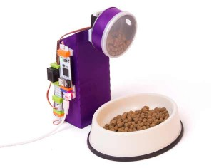 Pet Feeder Littlebits