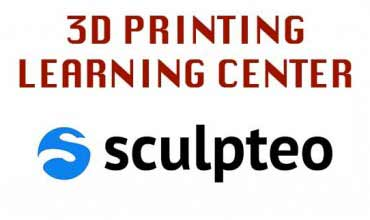 Imparare a stampare in 3d con Sculpteo Learning Center