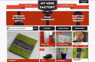 My mini factory: modelli pronti per la stampa 3d!